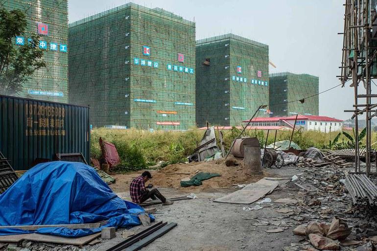 Evergrande — Bröckelnde Neubauten